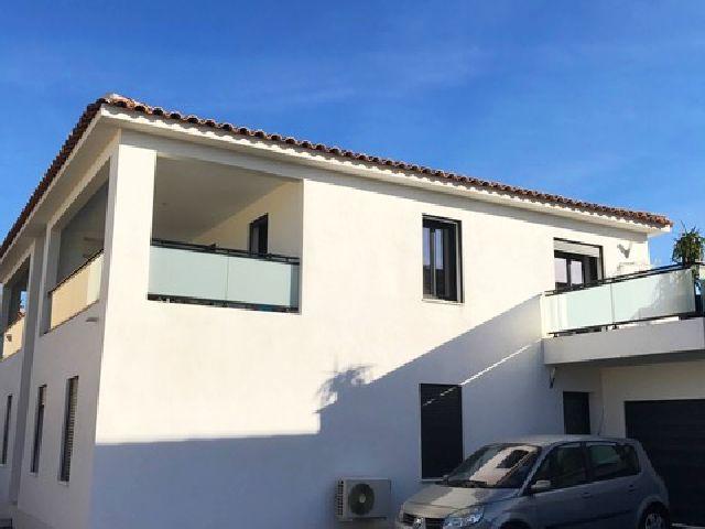 Appartement T2 récent avec 2 grandes terrasses